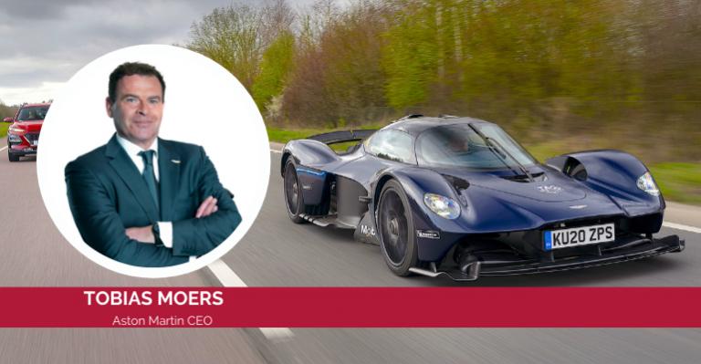 Aston Martin Boss explique comment ses connaissances en ingénierie l'aident maintenant
