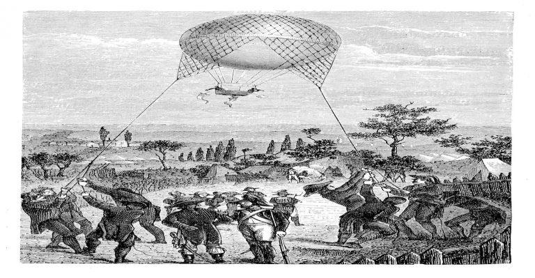 Comment les valeurs de résistance ressemblent-elles aux montgolfières de l'armée française des années 1800?