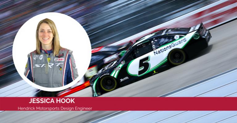 Comment l'ingénieur NASCAR Jessica Hook sue les détails avec le logiciel Siemens NX