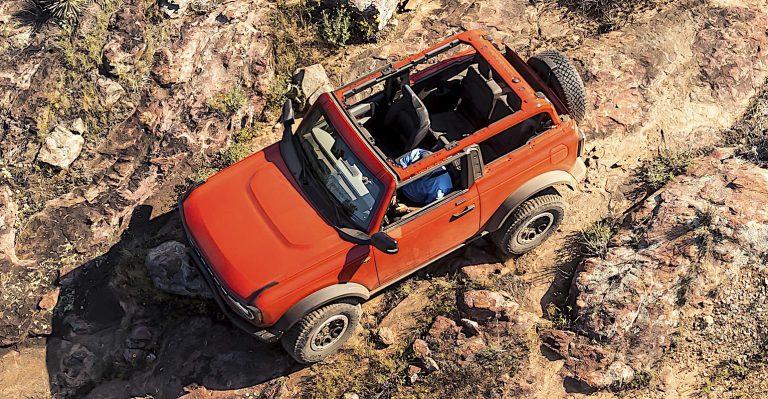 Ford Bronco utilise une technologie impressionnante dans son offre pour Buck Jeep du trône 4×4