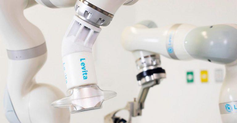 L'attraction magnétique de la solution robotique chirurgicale de Levita