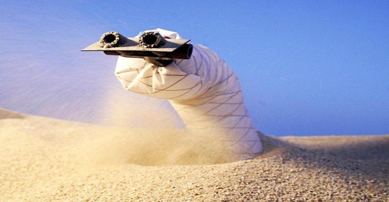 Les robots mous qui peuvent s'enfouir sous terre sont-ils un avantage ou une horreur extraterrestre?
