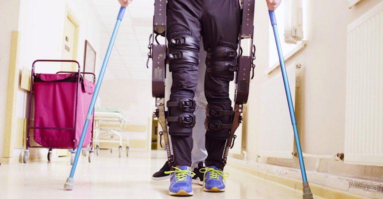 L'exosquelette a un impact positif sur les patients atteints de SEP