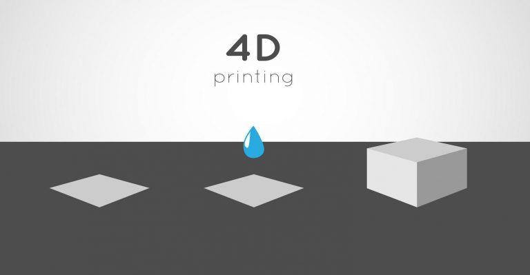 Vous voulez des matériaux autoformants?  Entrez dans le monde de l'impression 4D