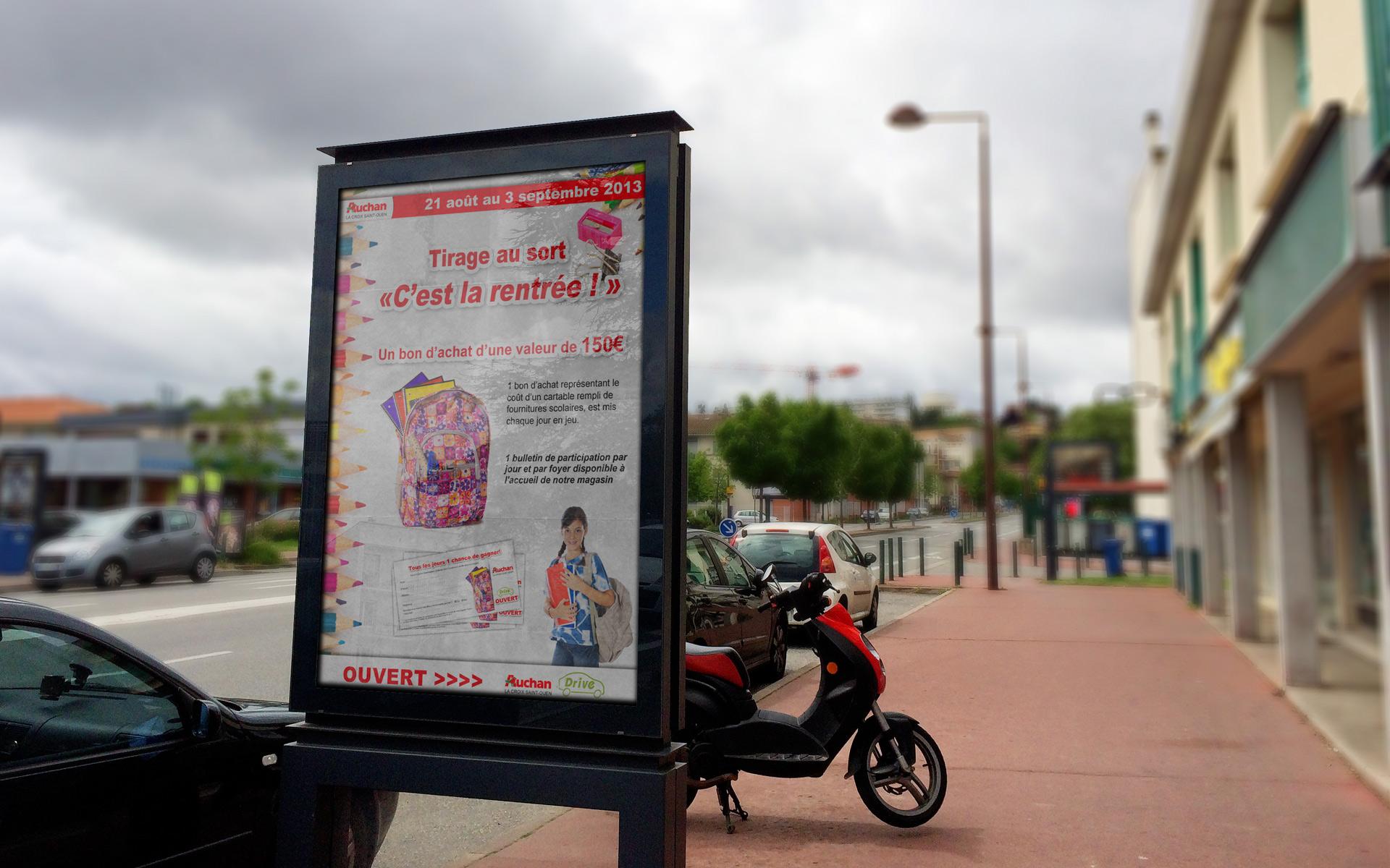 Auchan - Affiche