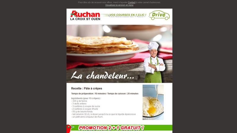 Auchan - E-mailing