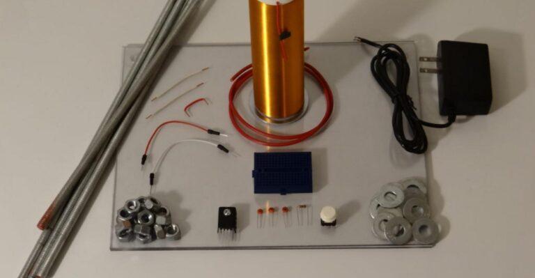 Alimentation sans fil avec une bobine Tesla DIY
