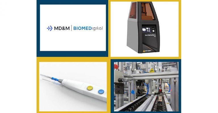 Aperçu de l'exposition sur la conception et la fabrication médicales virtuelles