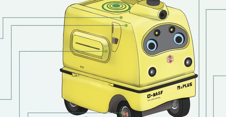 BASF matérialise le concept de recharge mobile