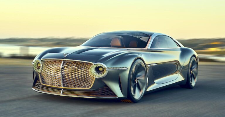 Bentley vise une production de véhicules électriques sans terres rares d'ici 2026