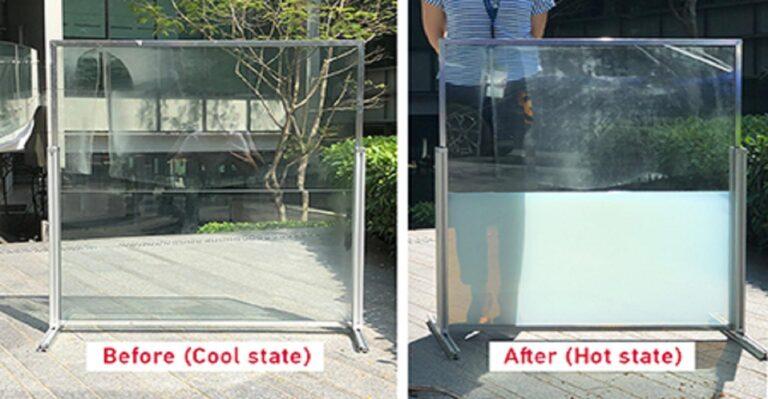 La fenêtre intelligente «liquide» aide à garder les bâtiments tempérés