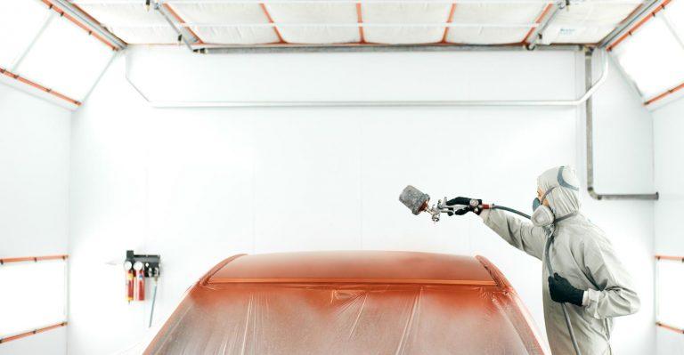 Les batteries EV sensibles aux fours de peinture de l'atelier de carrosserie infernale