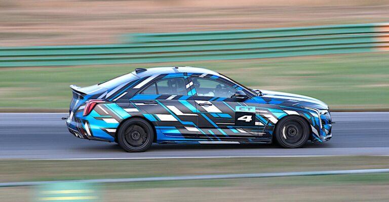Les berlines sport Cadillac Blackwing font revivre les roues en magnésium