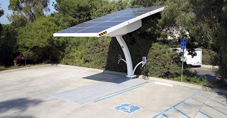 Les stations de recharge solaires EV Arc de Beam Global atterrissent sur le calendrier fédéral de la GSA