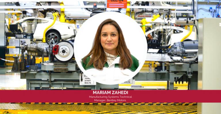 Mariam Zahedi de Bentley est une «femme automobile inspirante»