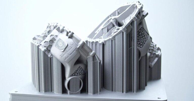 Porsche imprime en 3D un prototype de boîtier à entraînement électrique pour une production en petite série