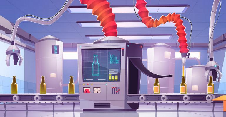 Qui a besoin de distanciation sociale lorsque les robots s'emparent de la nourriture et des boissons