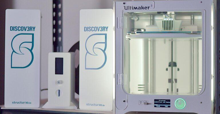Structur3d propose une impression 3D rapide de bureau de pièces en caoutchouc
